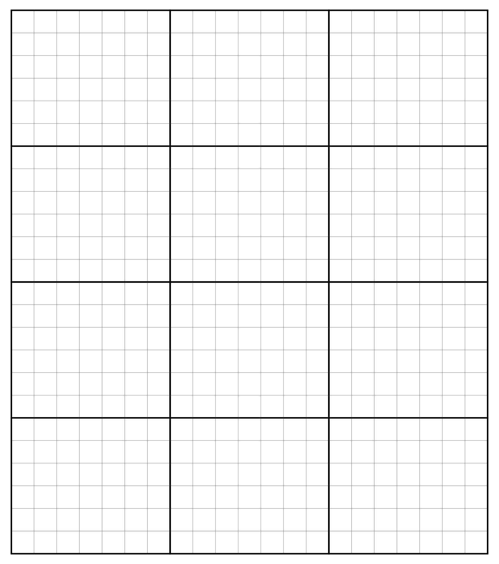 Printable Grid Graph Paper PDF