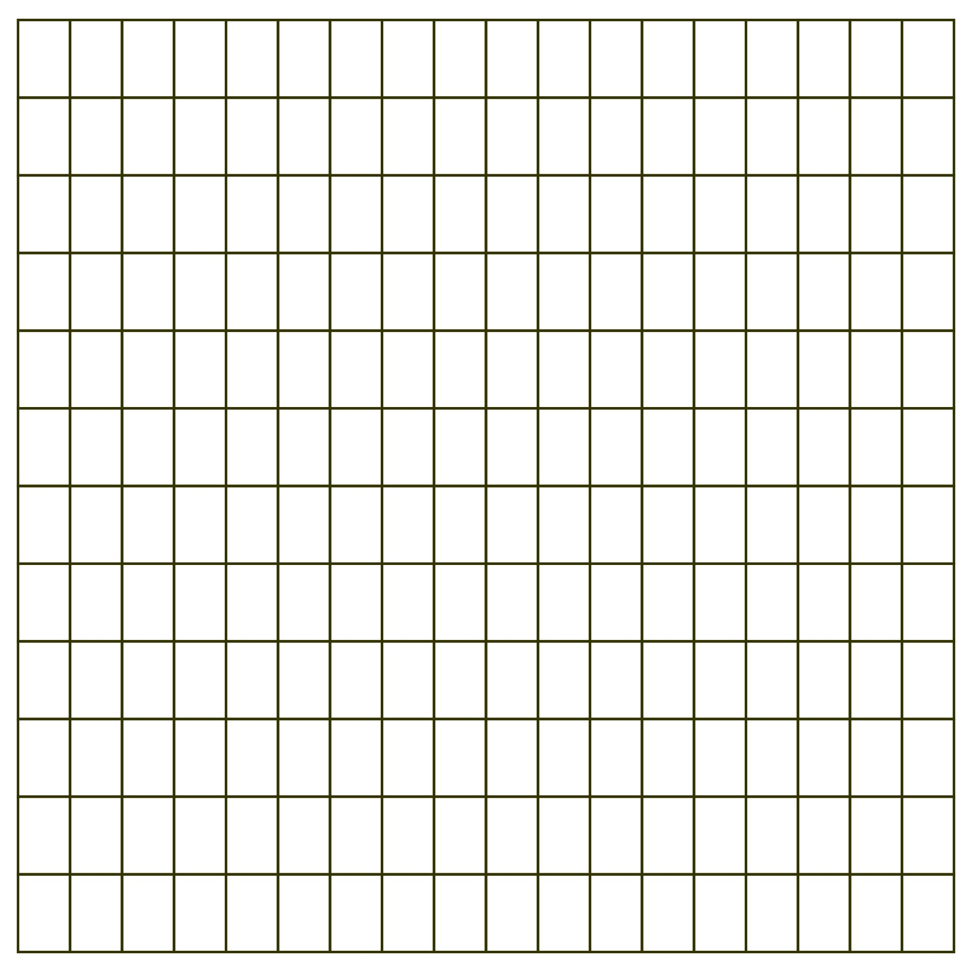 Printable Grid Graph Paper