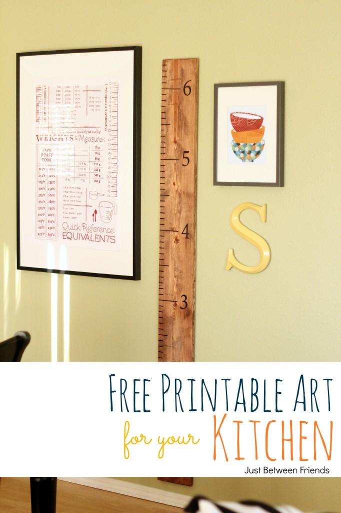 Printable Kitchen Wall Art