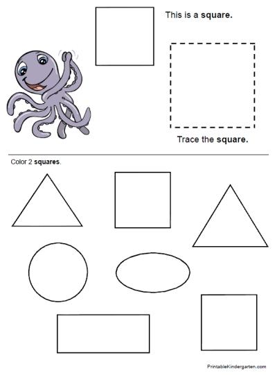Number Names Worksheets : shape printables for preschoolers ~ Free ...