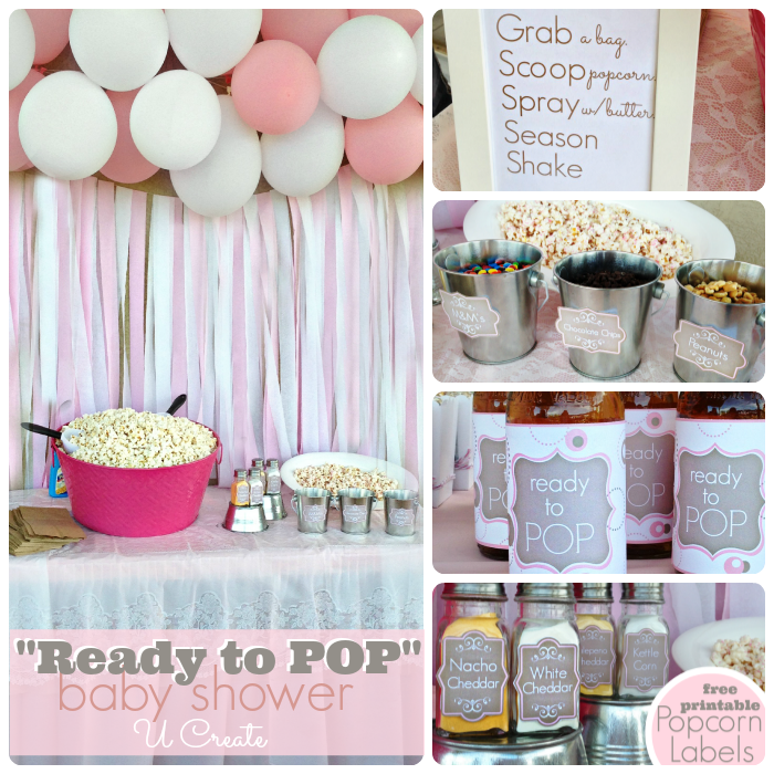 4 Images of Ready To Pop Baby Shower Printables