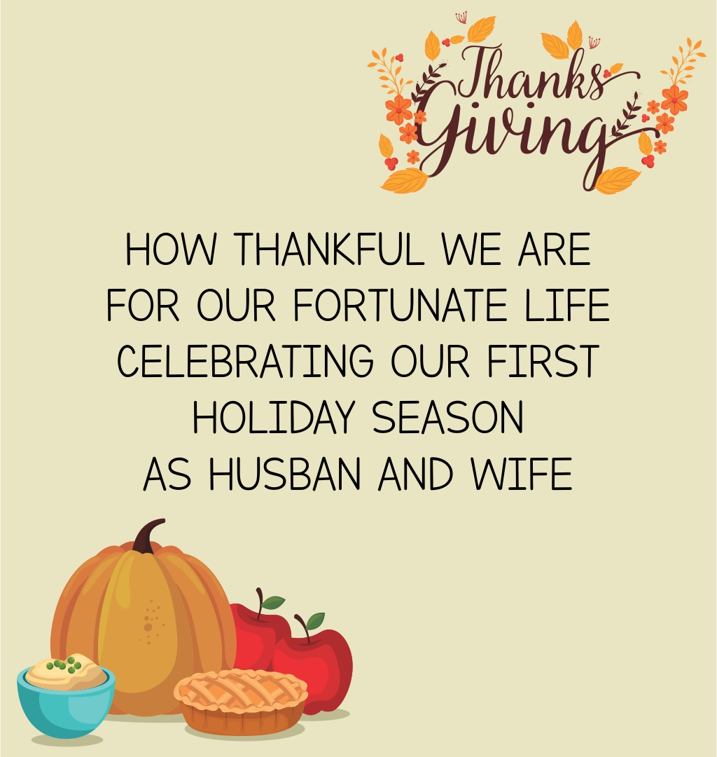 Romantic Thanksgiving Cards