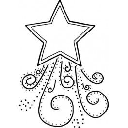 6 Images of Shooting Star Coloring Printables