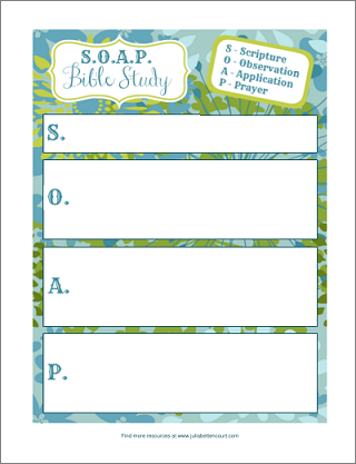 7 Images of Free Printable Bible Study Forms