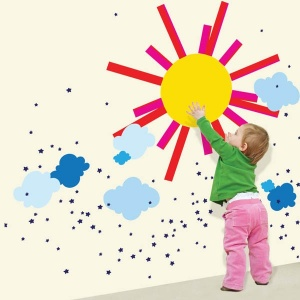 Sun Wall Decals Kids