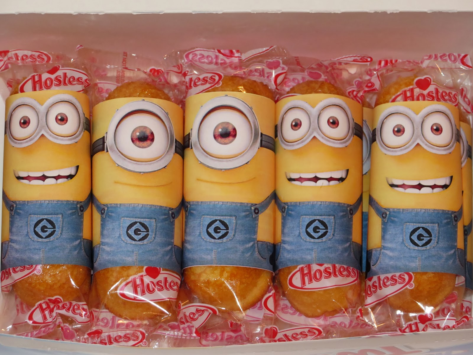 9 Images of Printable Despicable Me Minions Twinkies