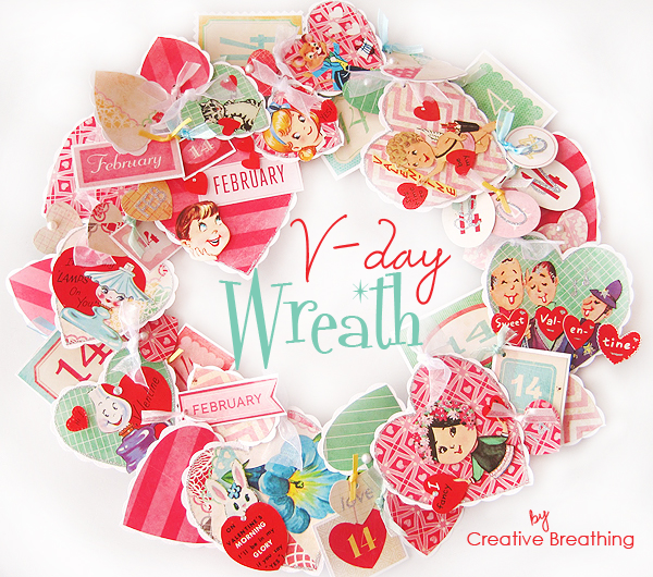8 Images of Printable Valentine Wreath