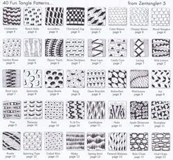 7 Images of Zentangle Basics Printables