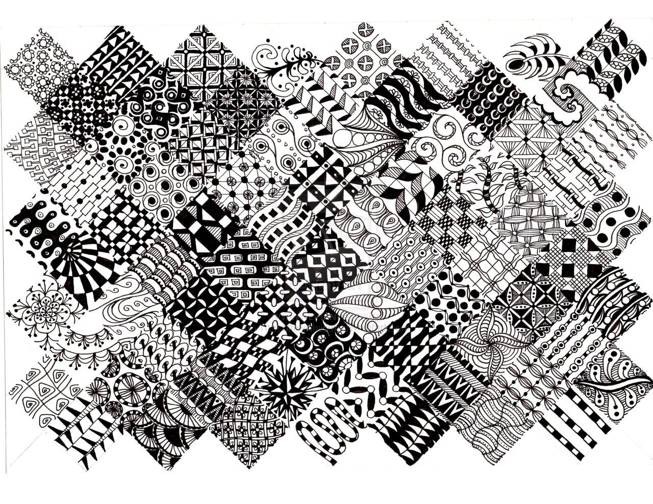 Zentangle Pattern Gallery