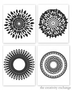 Black and White Art Prints Free Printables