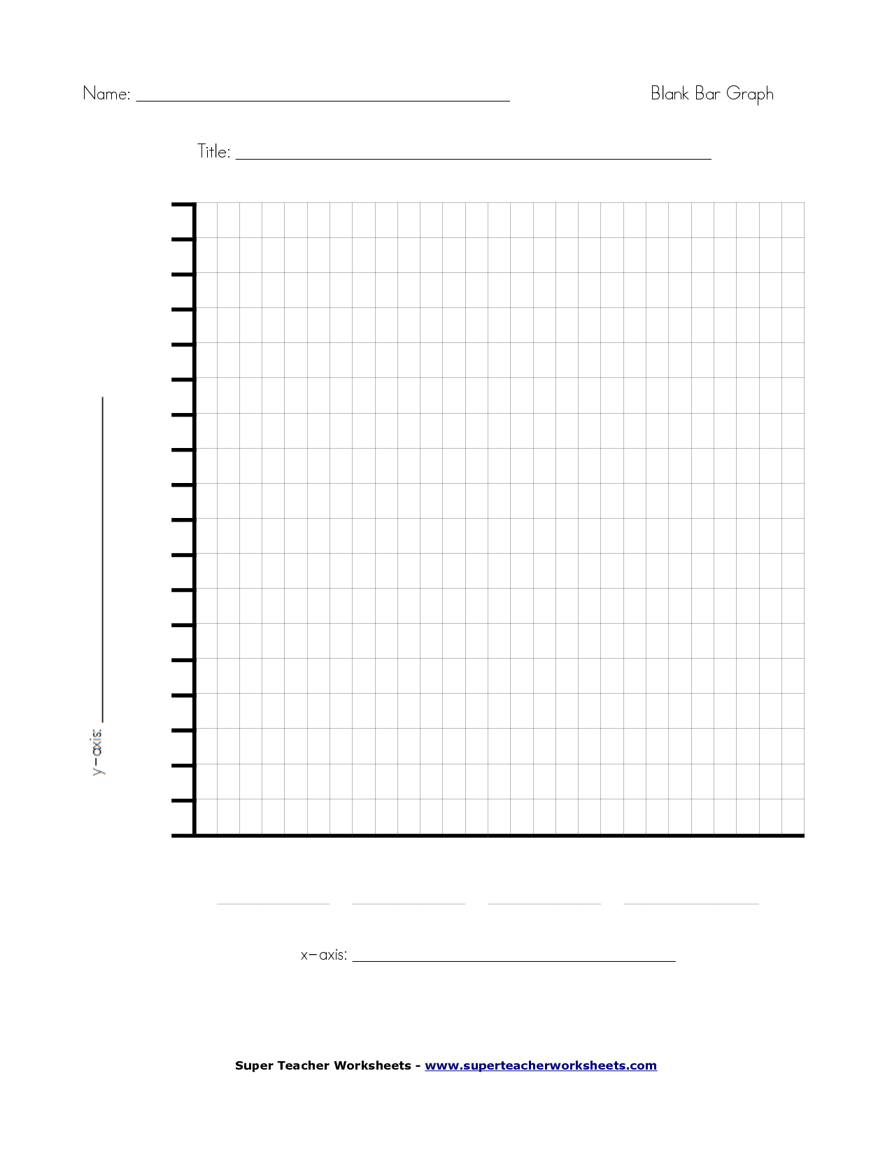 6 best images of free printable blank graph charts for Blank picture graph template