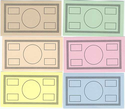 7 Images of Printable Blank Money