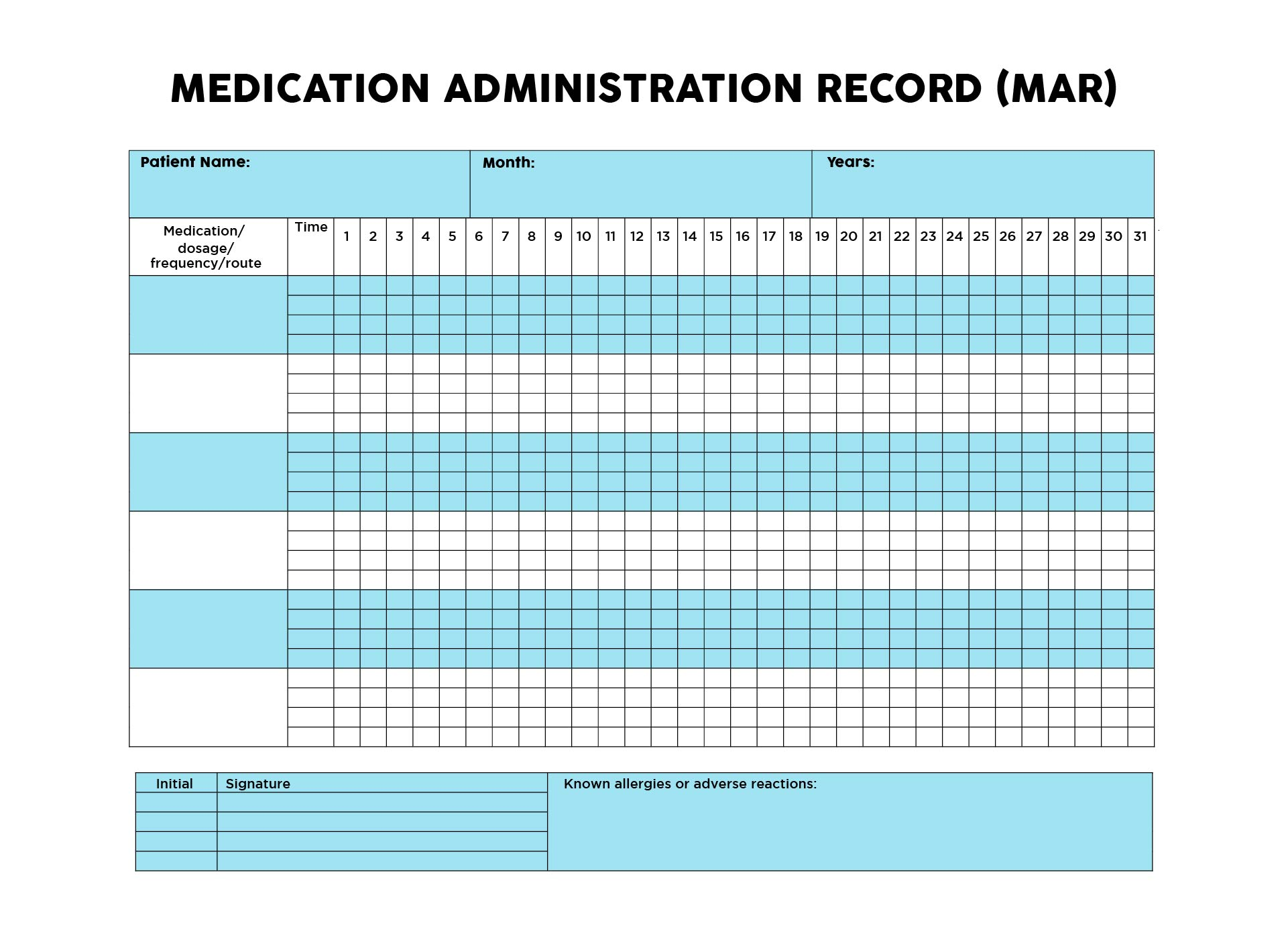 medicine prescription template - 8 best images of daily medication log printable daily