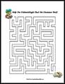 5 Images of Hard Dinosaur Mazes Printable
