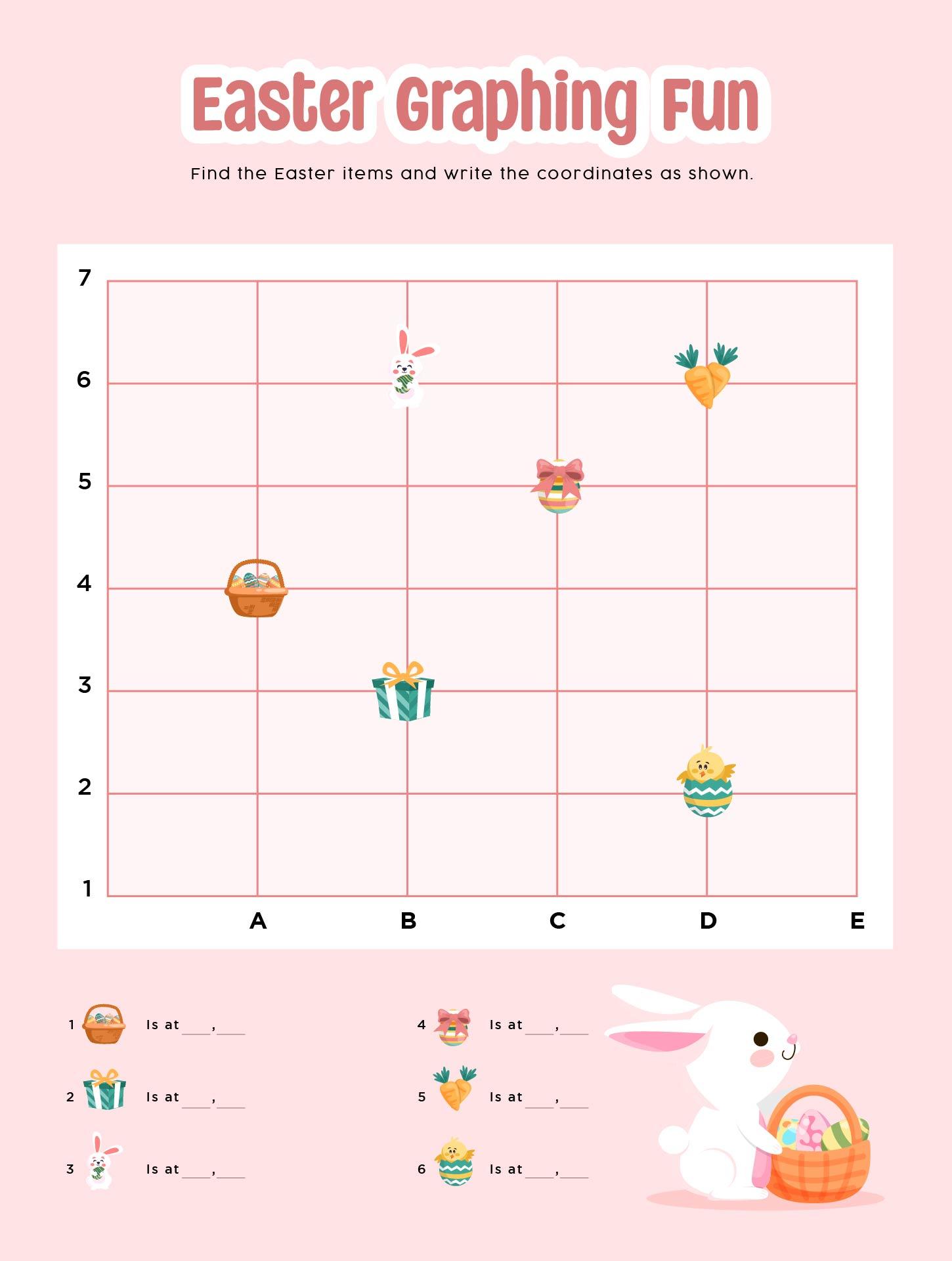 Number Names Worksheets kindergarten graphing worksheets : 8 Best Images of Kindergarten Graphing Worksheets Printable Easter ...