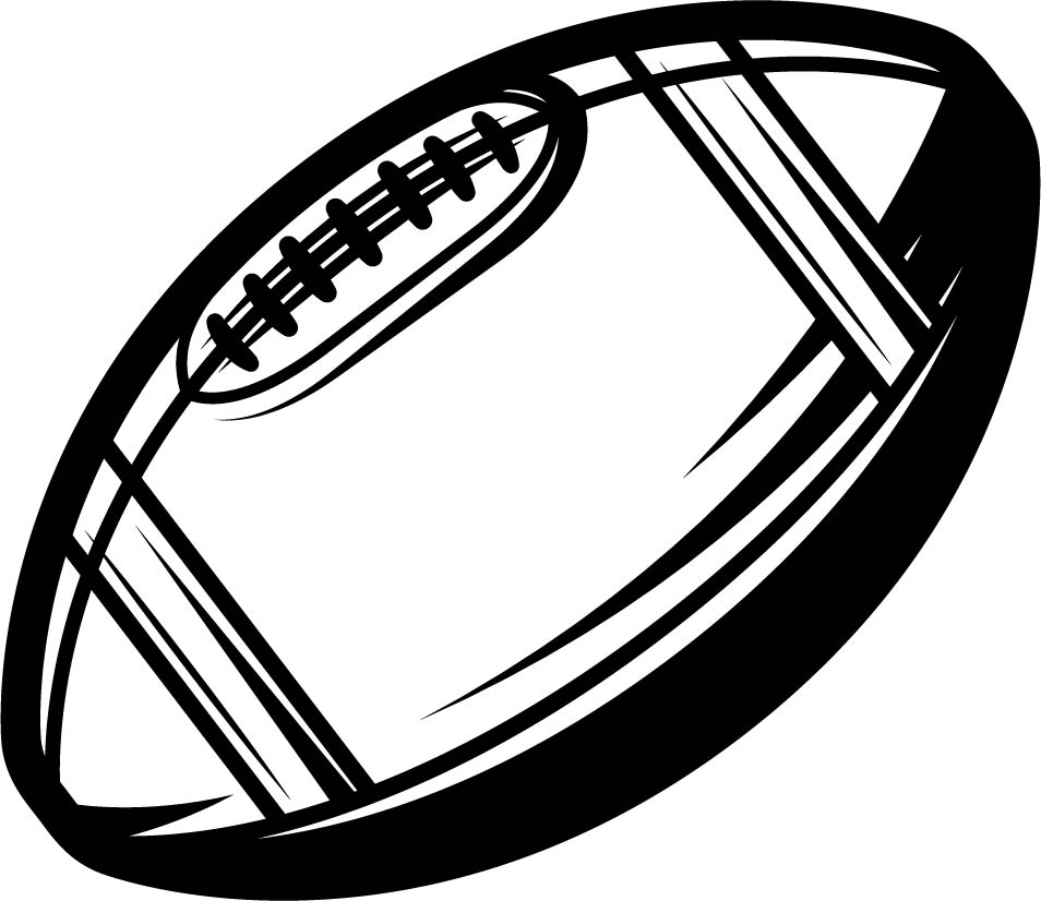Flag Football Printable Coloring Pages