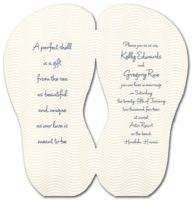 7 Images of Flip Flop Invitation Templates Printable