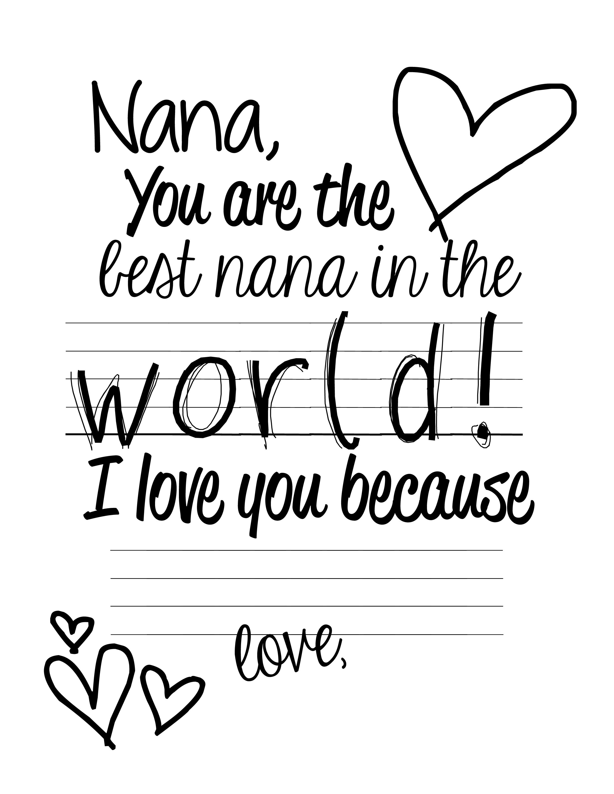 This is a graphic of Breathtaking happy birthday nana coloring pages