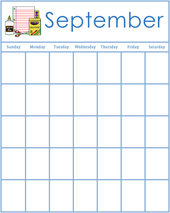 Calendar Printables For Preschool : Best images of preschool printable calendar for