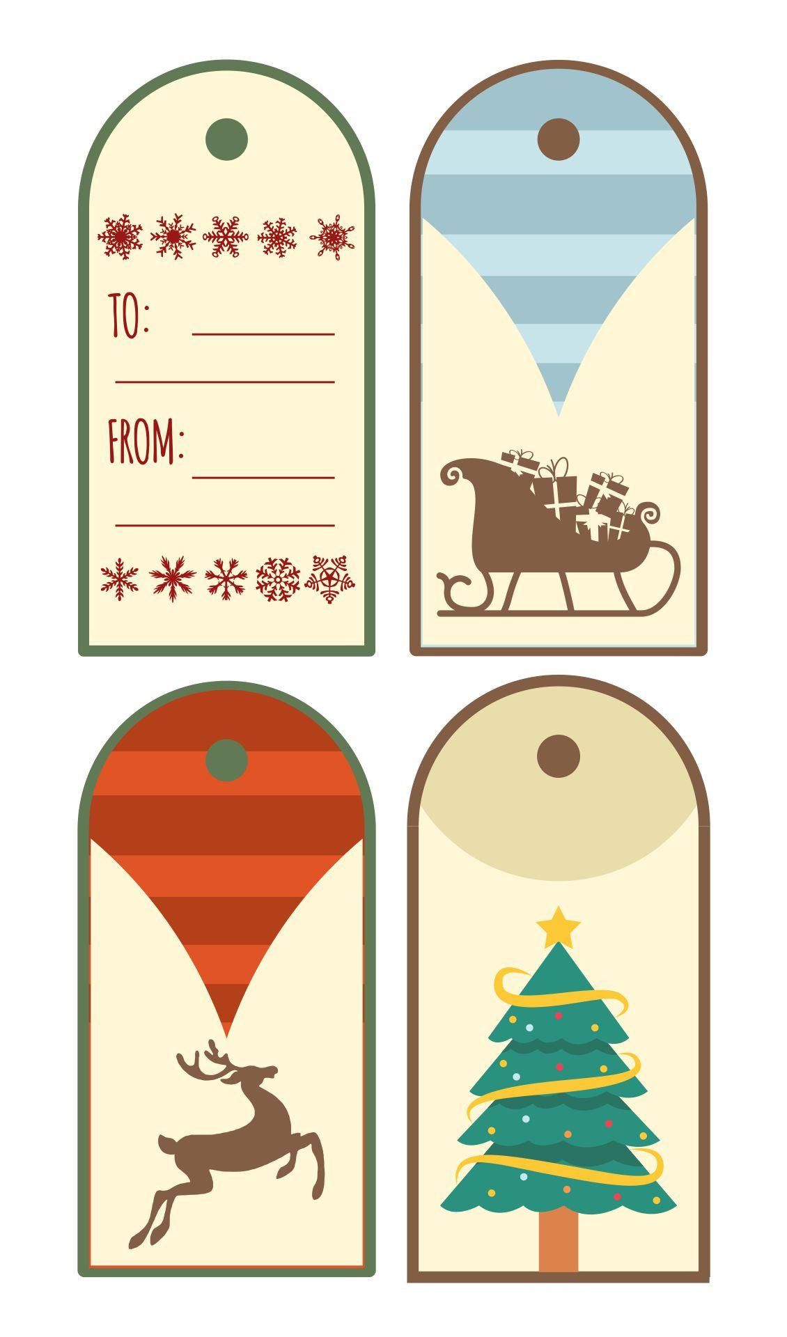 8 Images of Printable Christmas Present Tags