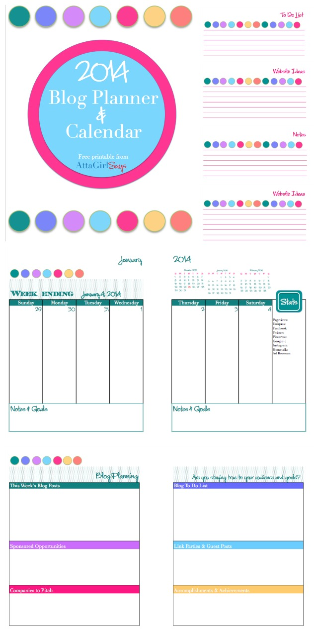 8 Images of At A Glance Daily Planner Printable