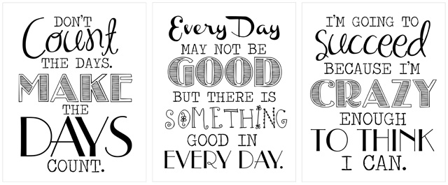 Free Printable Inspirational Work Quotes