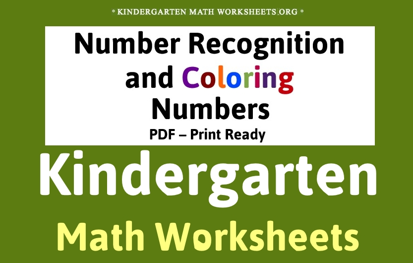 Number Names Worksheets free printable for kindergarten : 7 Best Images of Free Printable Games For Kindergarten - Printable ...