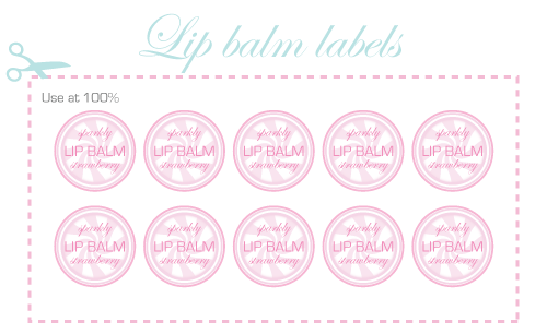 9 best images of lip balm labels free printable lip balm printable labels free printable lip. Black Bedroom Furniture Sets. Home Design Ideas
