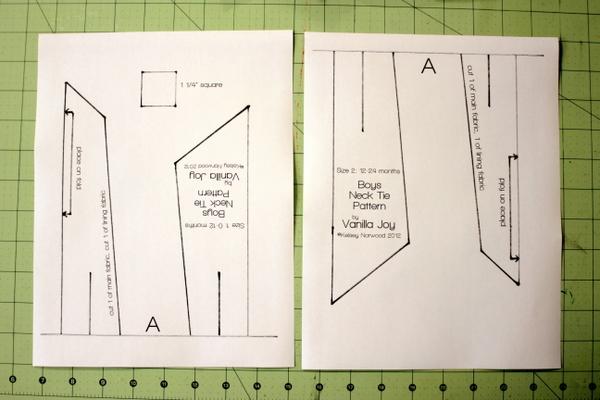 8 Images of Printable Sewing Pattern Tie