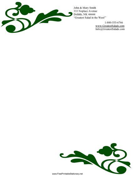 Printable Scroll Designs