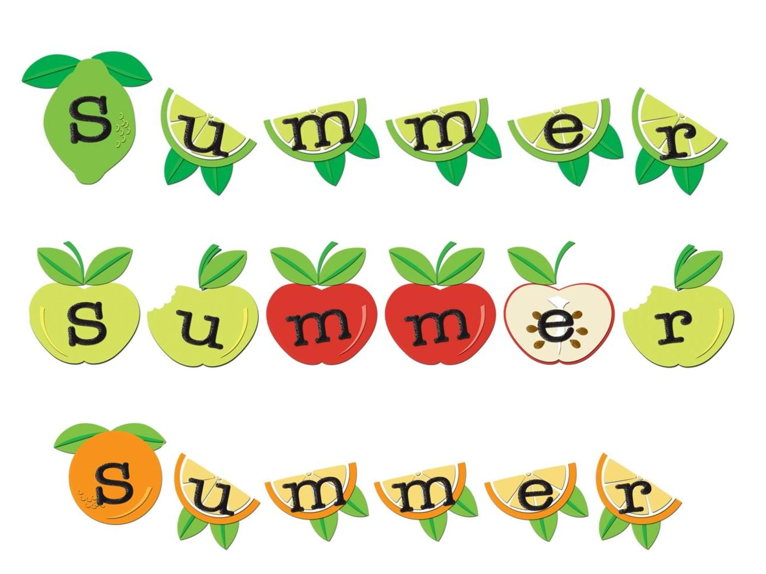 Free Printable Summer Clip Art