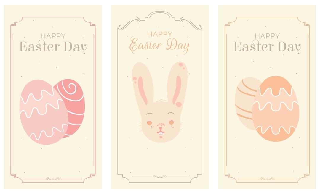 Printable Vintage Easter Cards