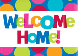 6 Images of Welcome Home Banners Printable