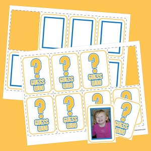 8 Images of Guess Who Game Font Printables