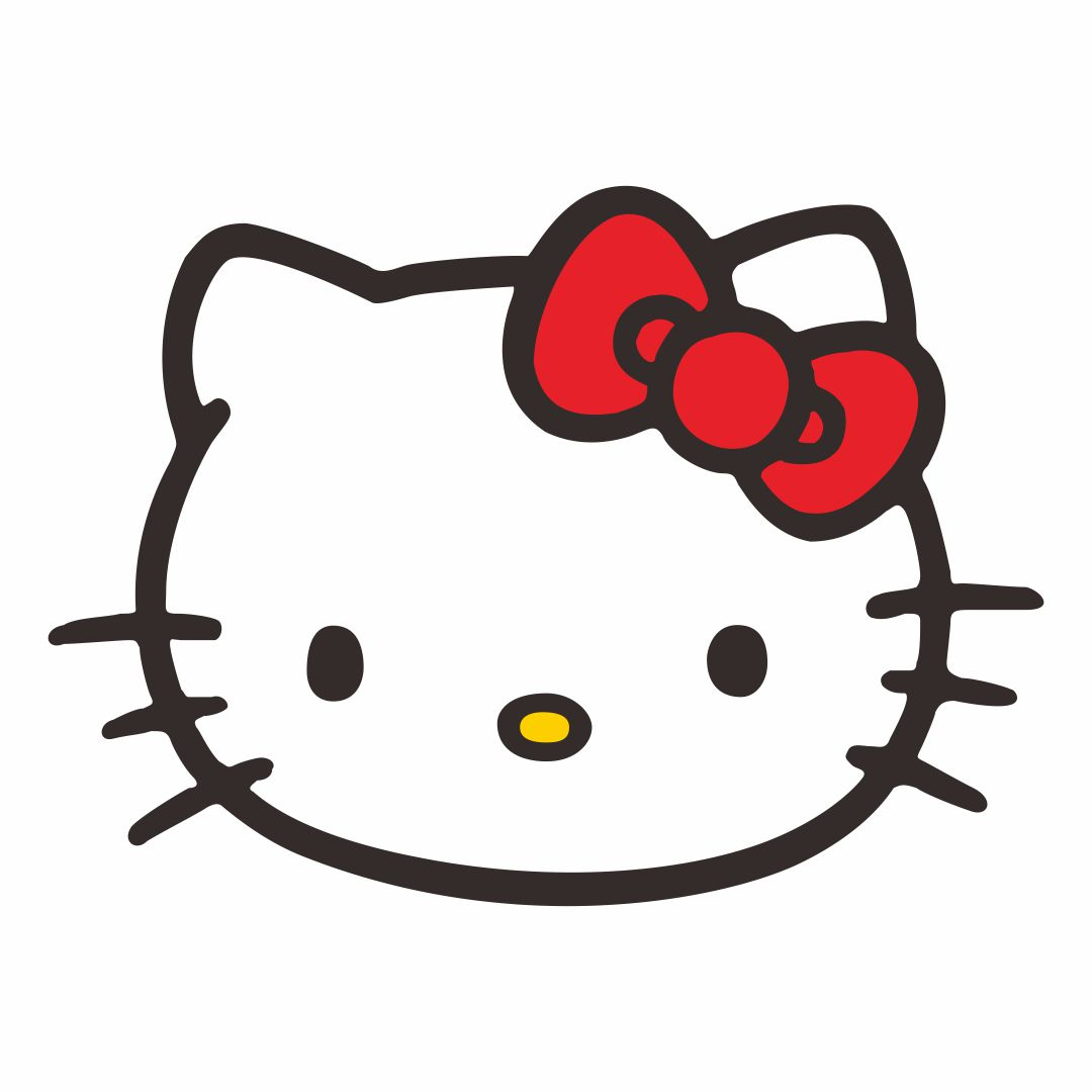 8 Best Images Of Printable Hello Kitty Face