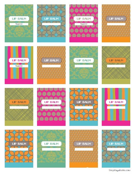 9 Images of Lip Balm Labels Free Printable