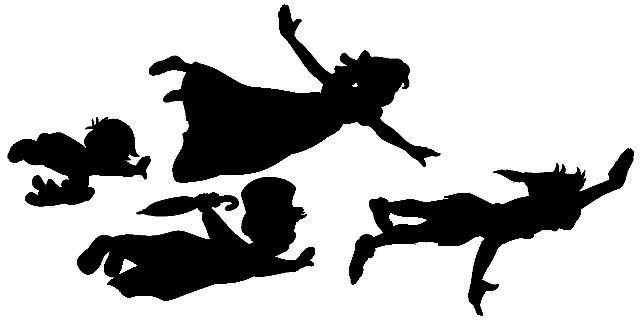 6 Images of Peter Pan Clip Art Free Printable