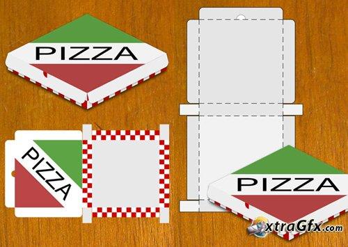 Коробка для пиццы своими руками