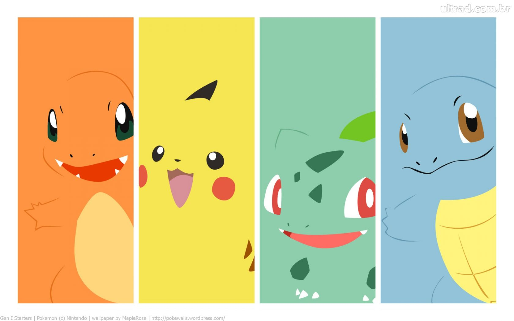 5 Images of Pikachu Printable Bookmarks