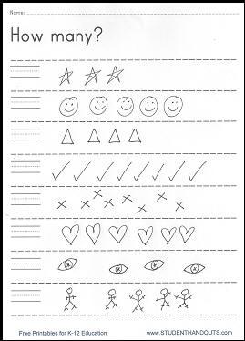 Number Names Worksheets free printable worksheet for preschool : Worksheets To Print Off For Free - Intrepidpath