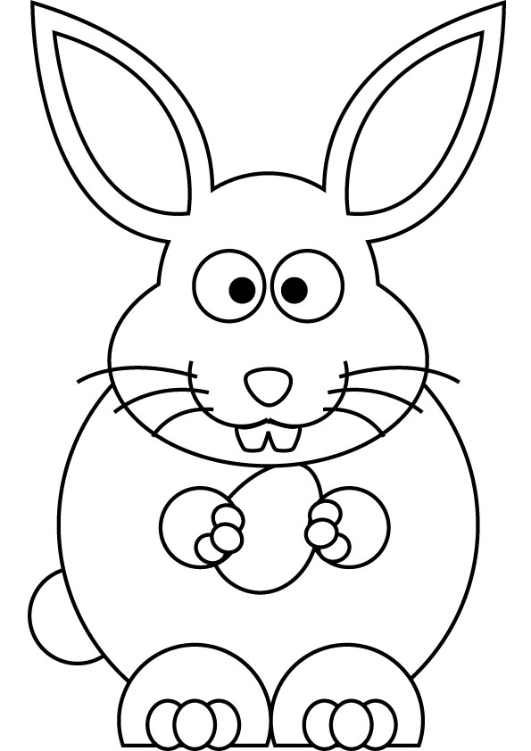 6 Images of Easter Drawings Printable