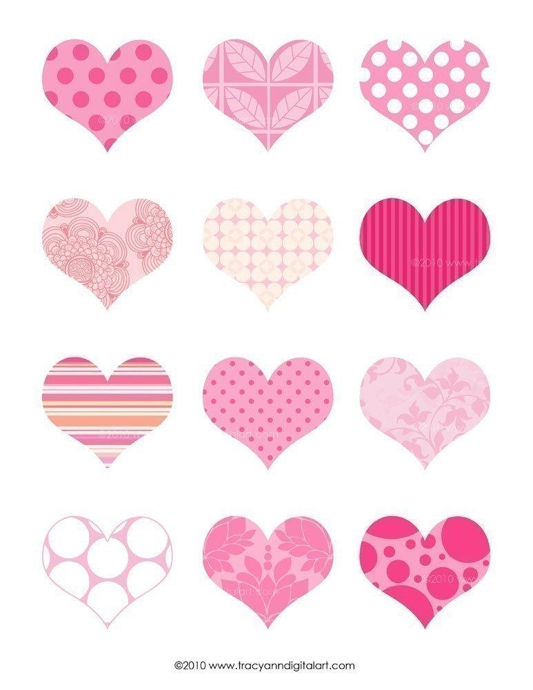 Printable Heart Clip Art