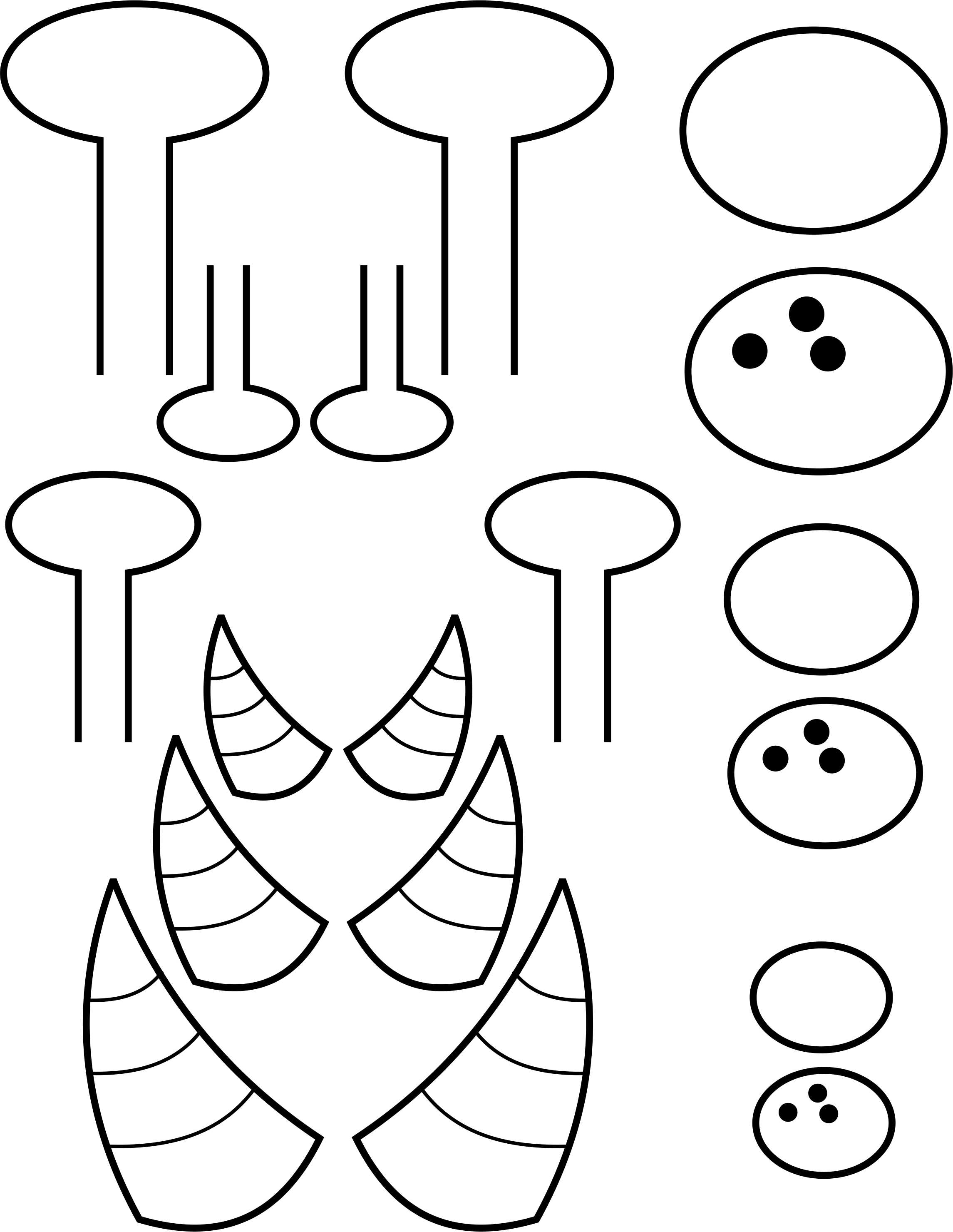 template monstre 8 best images of printable monster eye templates