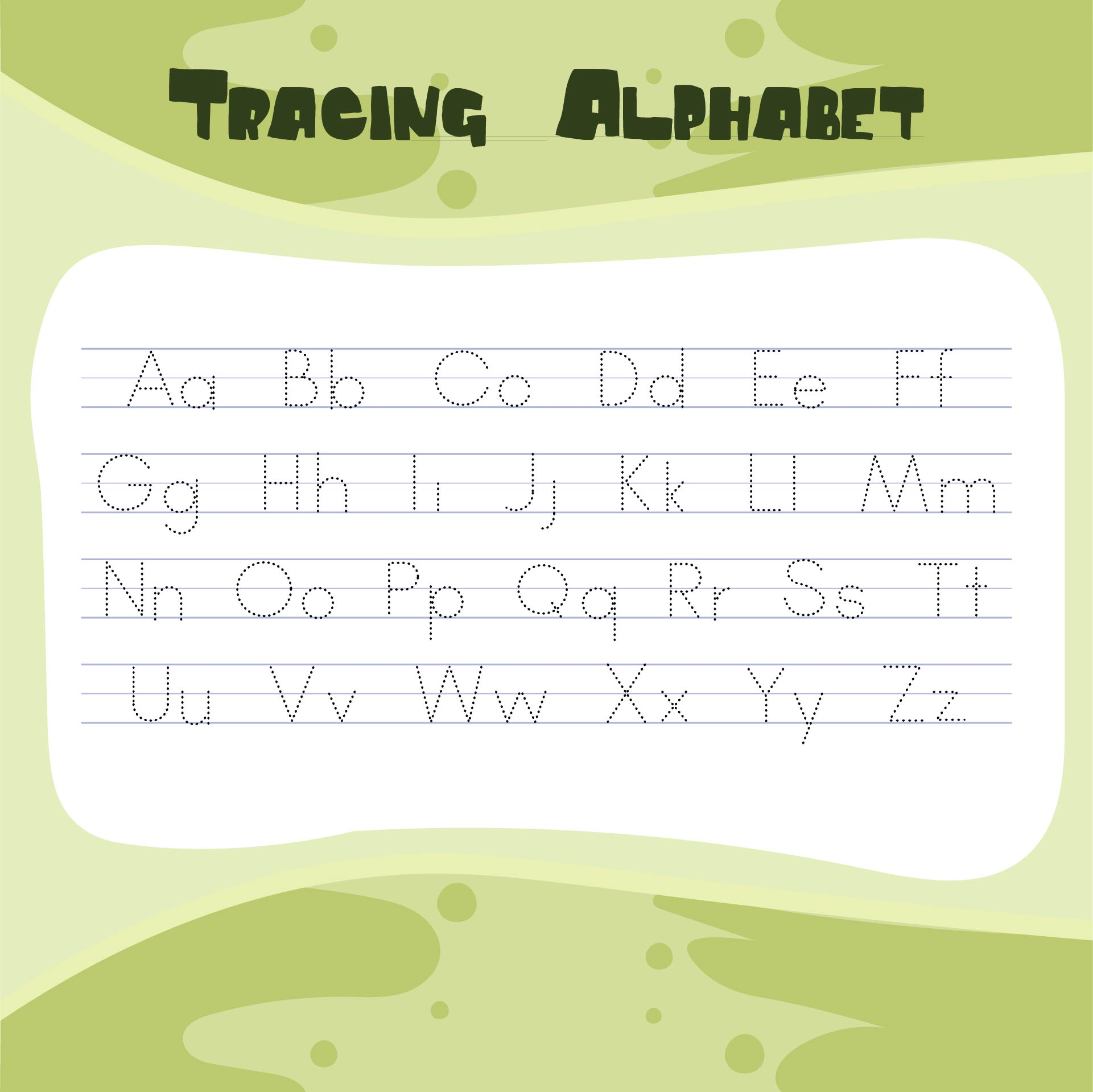 6 Best Images of Free ABC Worksheets Preschool Printables  Printable Preschool Alphabet