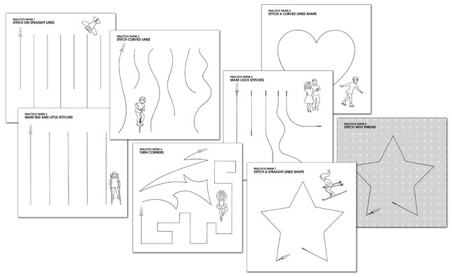 5 Images of Free Printable Sewing Sheets