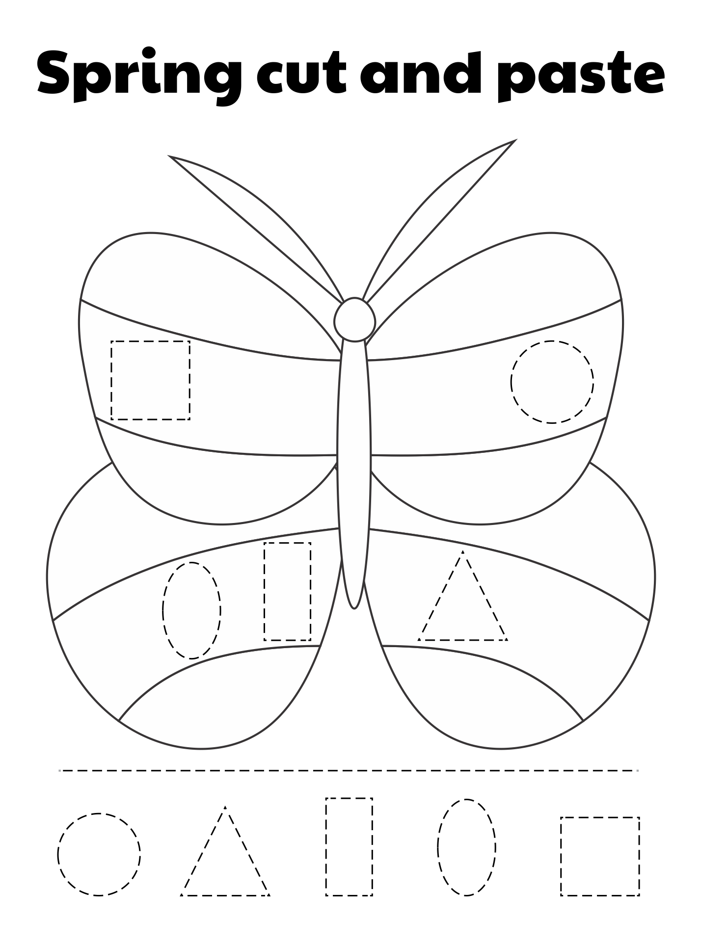 9 Images of Cut And Paste Printables