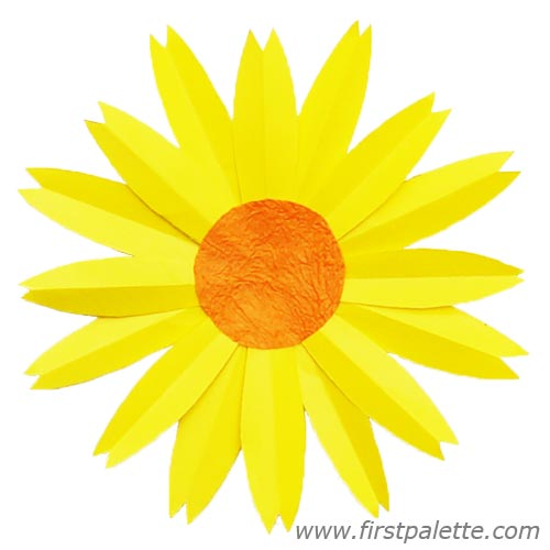 5 Best Images of Sunflower Center Cut Out Template ...
