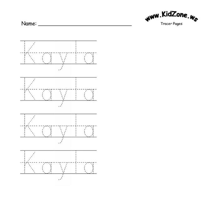 Custom printable writing sheets
