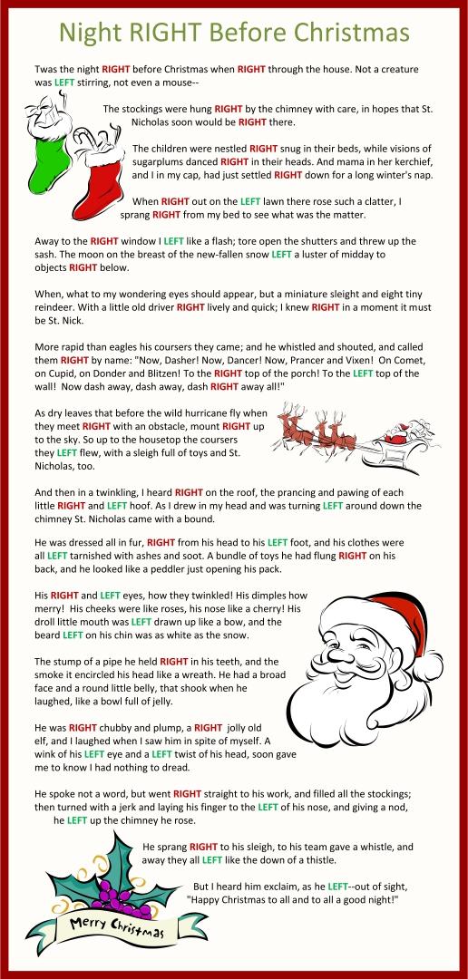 Twas the Night Before Christmas Gift Exchange