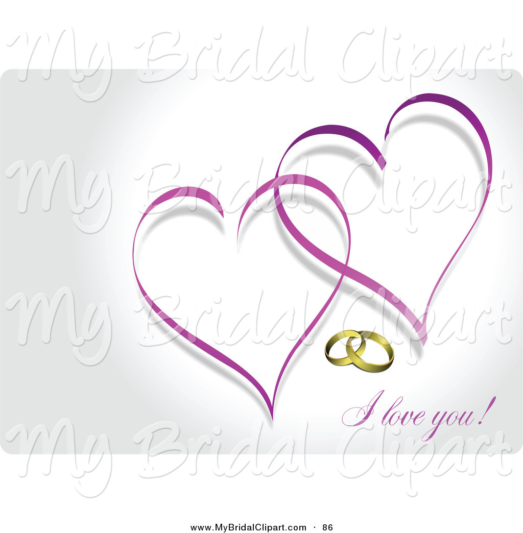 6 best images of wedding hearts clip art free printables